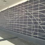 Design for Birmingham Shuttlesworth International Airport Green Wall