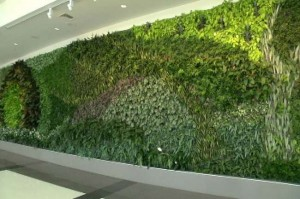 Green Wall Shuttlesworth Birmingham International Airport